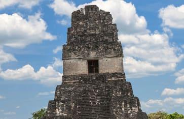 Maya Ruine in Guatemala.