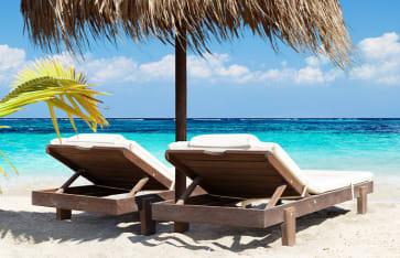 Tropischer Strand, Honduras