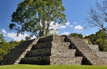 Maya Stadt Copan in Honduras