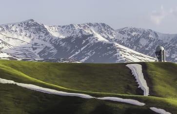 Plateu Assy, Almaty, Kasachstan