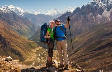 Trekking, Iran