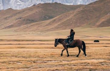 Reitferien, Kirgistan