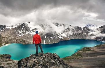 Ala Kul See, Tien Shan Gebirge, Karakol Nationalpark, Kirgistan