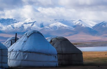 Naturerlebnisse, Kirgistan