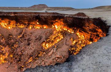 Darvaza (Derweze)-Gaskrater, Turkmenistan