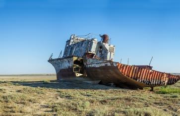Aral See, Usbekistan