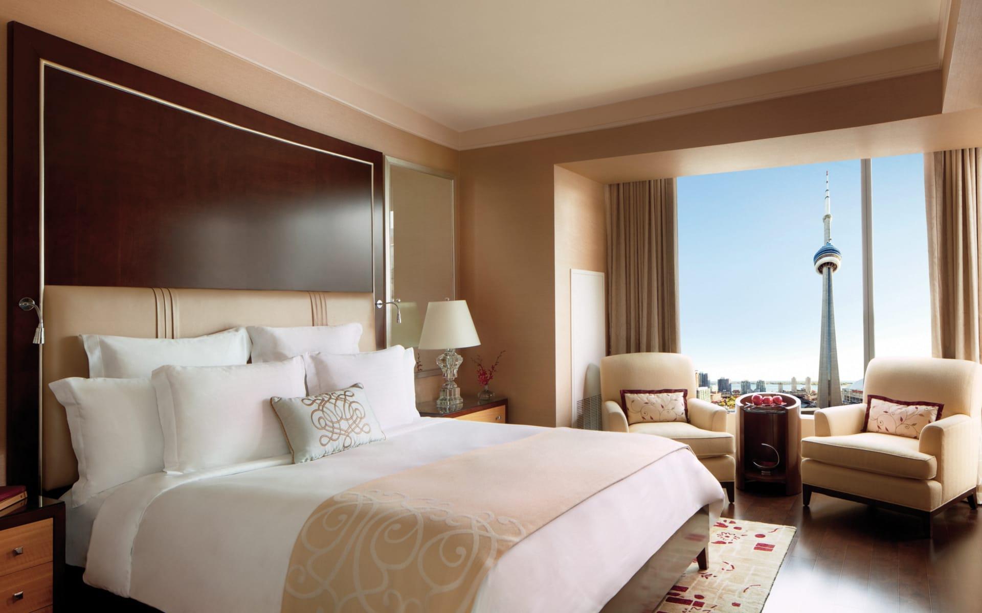 Ritz Carlton Toronto: _ Zimmer Ritz-Carlton Toronto Doublebed