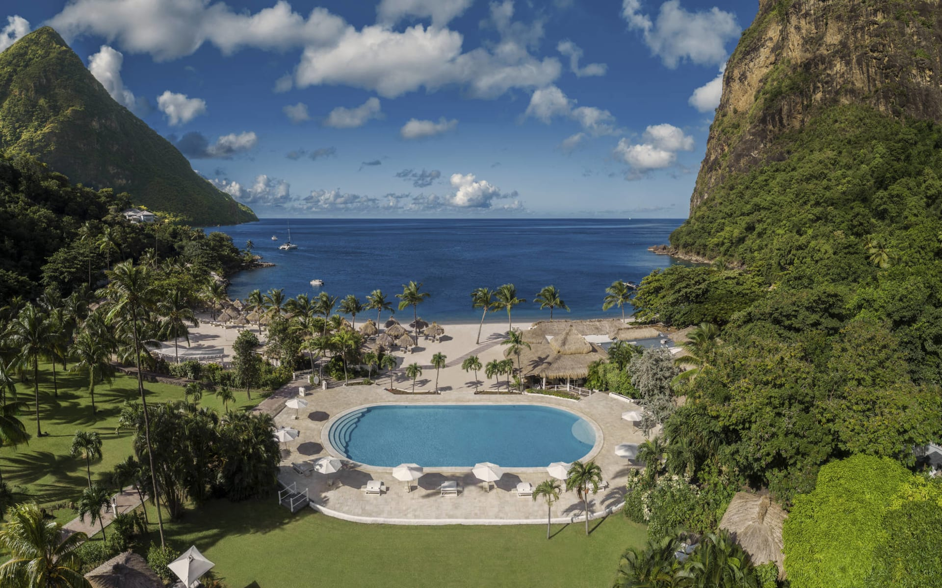 Sugar Beach A Viceroy Resort in Val des Pitons: 2. Pool