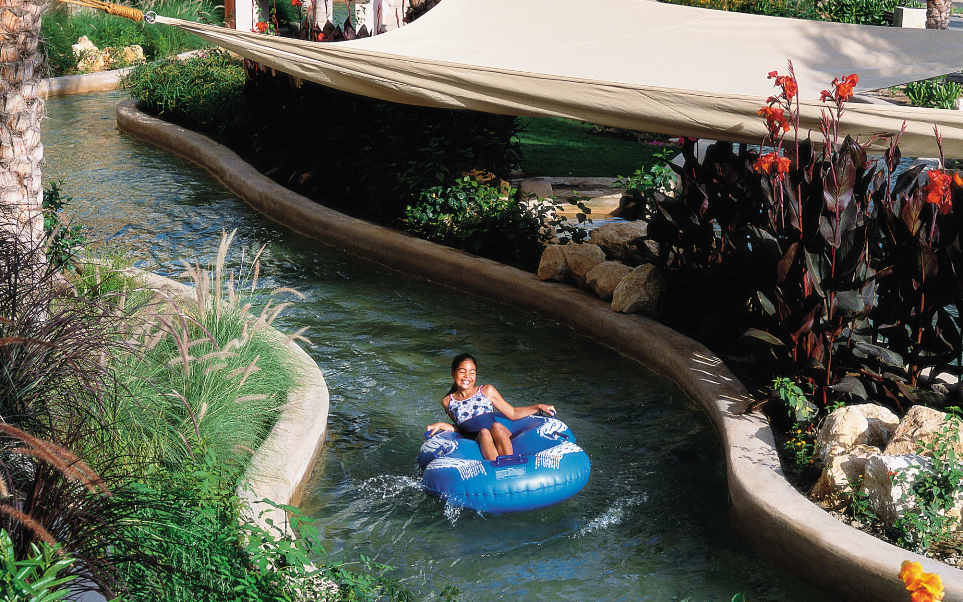 Al Waha (Shangri-La's Barr al Jissah Resort & Spa) in Muscat:  Al Waha Hotel Lazy River