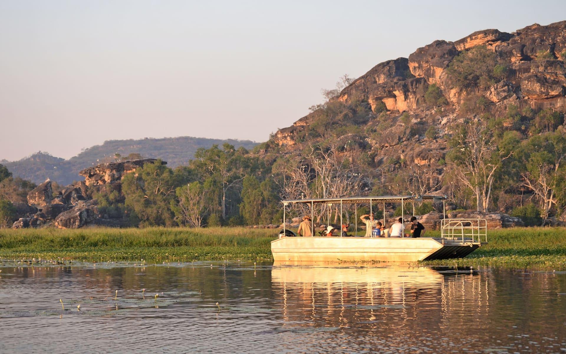 Davidson's Arnhemland Safaris in Jabiru:  Arnhemland Safaris - Billabong Cruise
