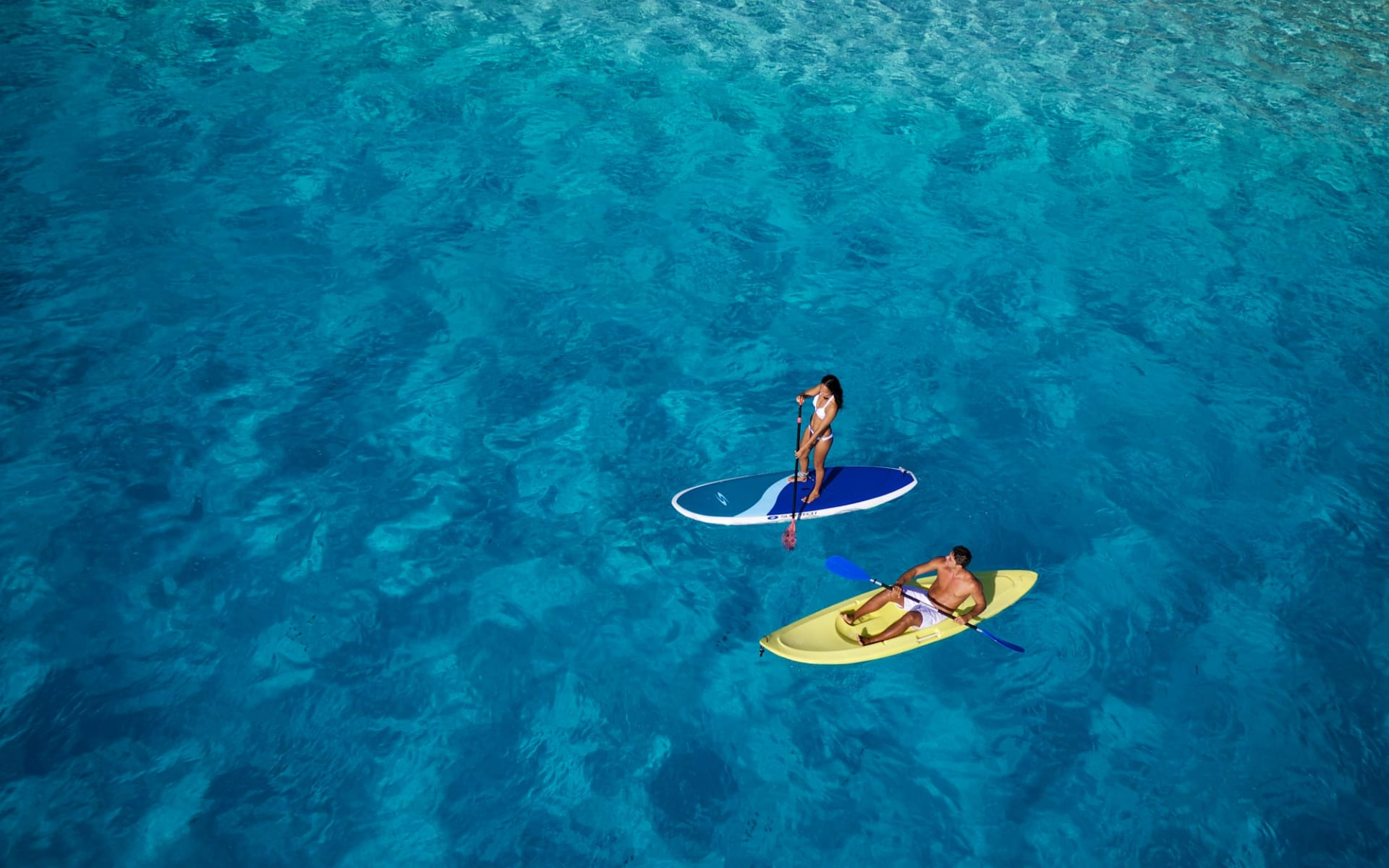 Intercontinental Le Moana Bora Bora:  BOB Intercontinental Moana Kayak, Paddle Board (1)