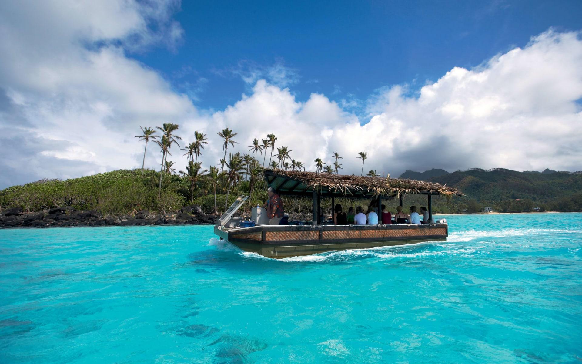 Pacific Resort Rarotonga:  Pacific Resort Rarotonga - Lagoon Cruise