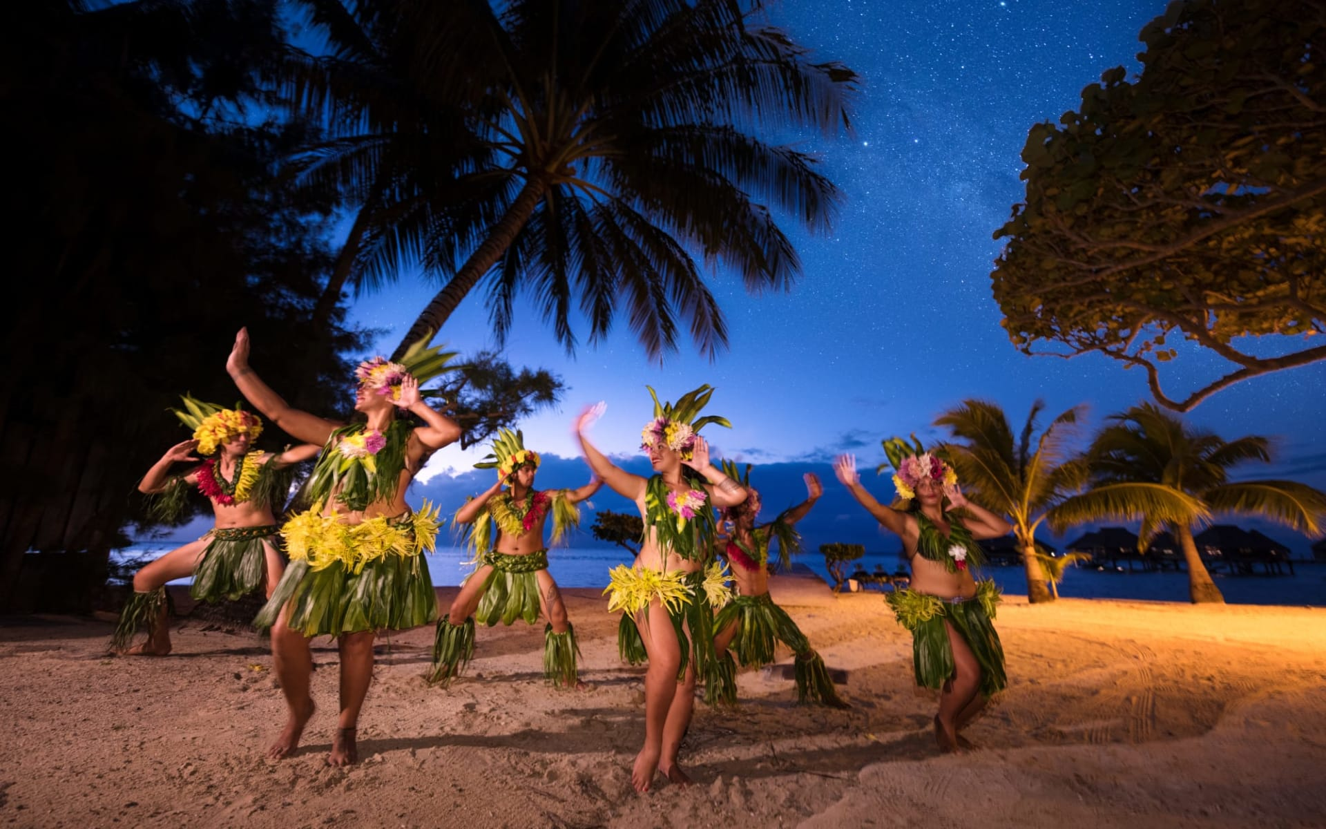 Hilton Moorea Lagoon Resort & Spa:  Polynesian Show