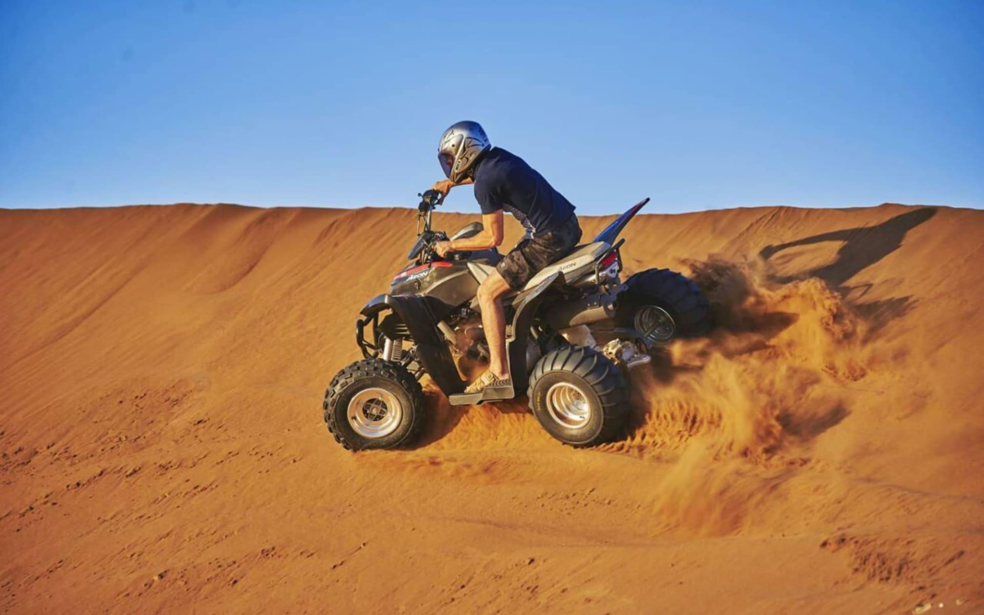 Dunes by Al Nahda in Barka:  Quad biking