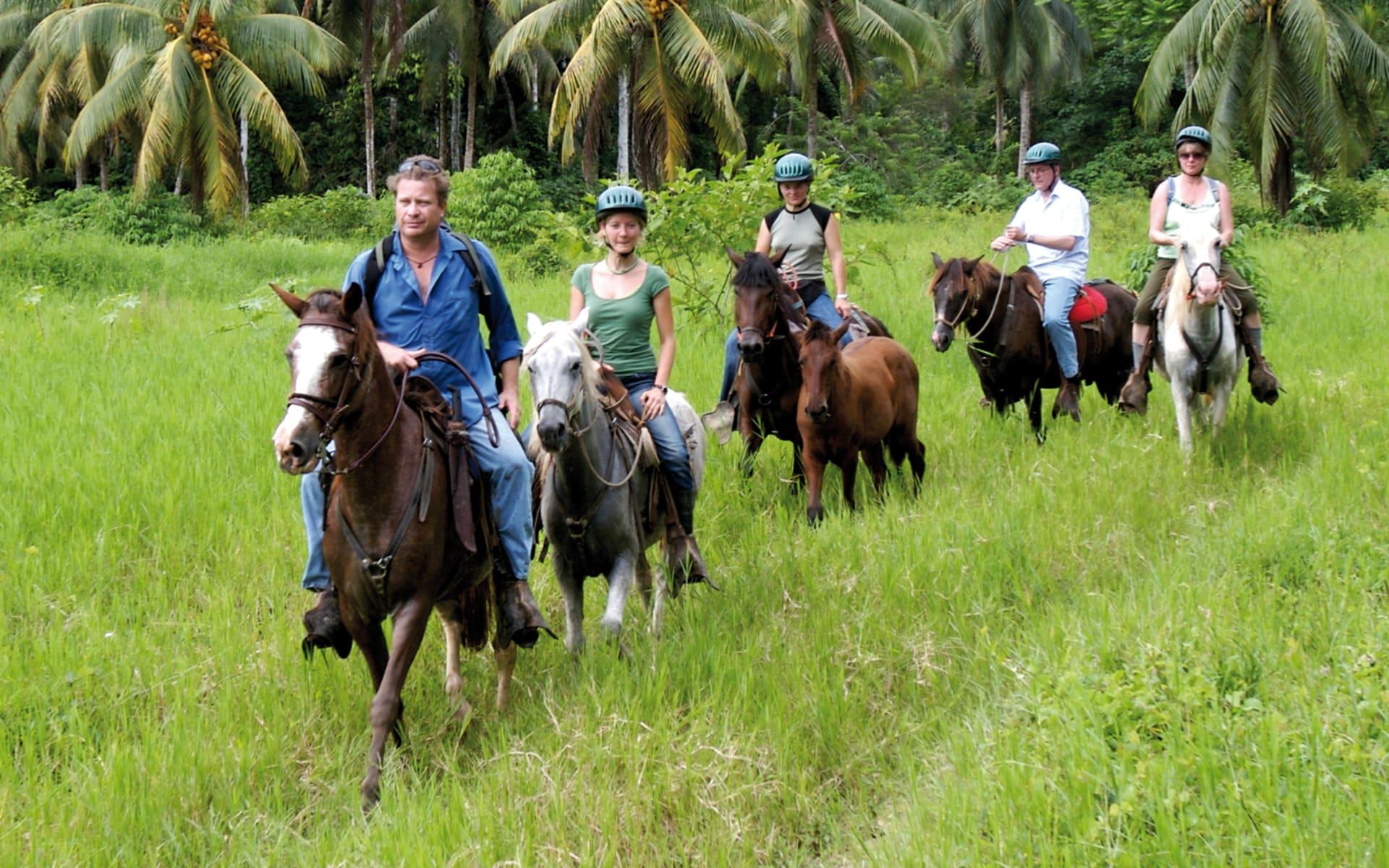 Selva Bananito ab Puerto Limon: activities: Selva Banannito - Perdeausritt