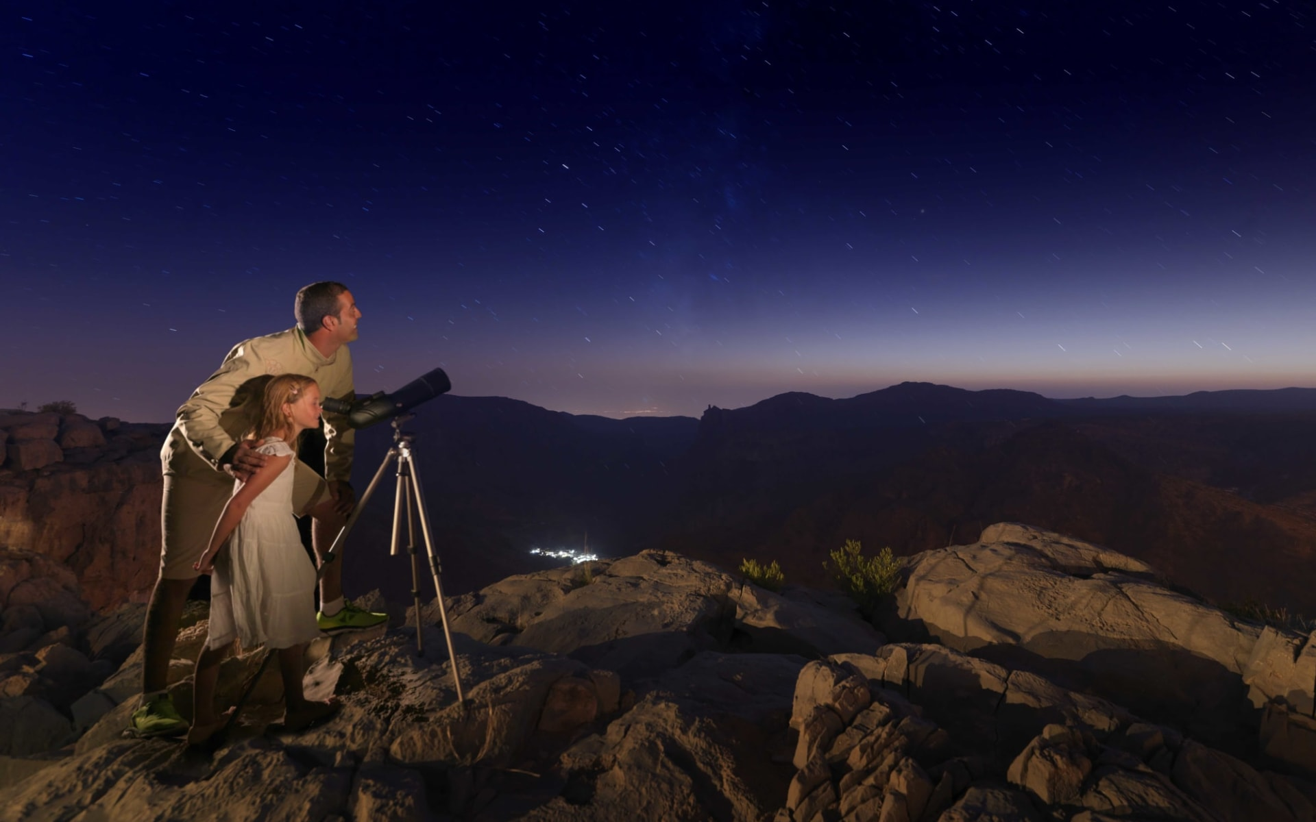 Anantara Al Jabal Al Akhdar in Jebel Akhdar:  Star Gazing