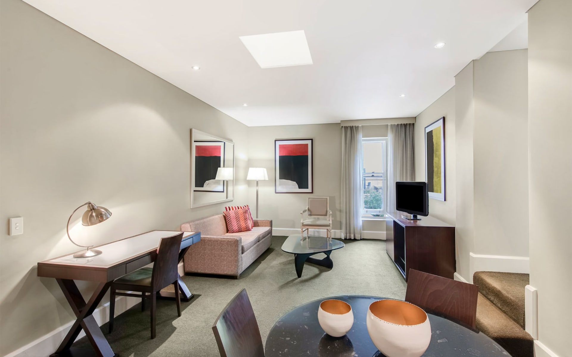 Adina Apartment Hotel Adelaide Treasury: Adina-apartment-hotel-adelaide-one-bedroom-lounge-room-03-2018