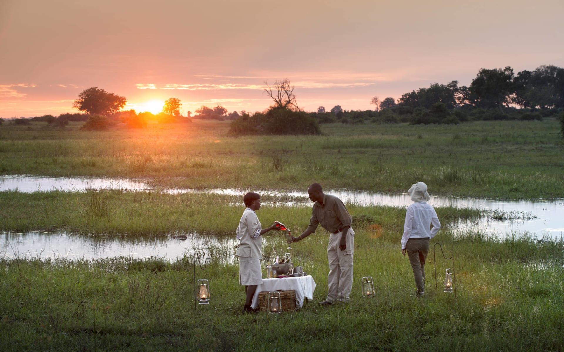 Duba Explorers Camp in Okavango Delta: aktiv - DubaExpeditionCamp-Safari-Experience-GreatPlainsConservation-7