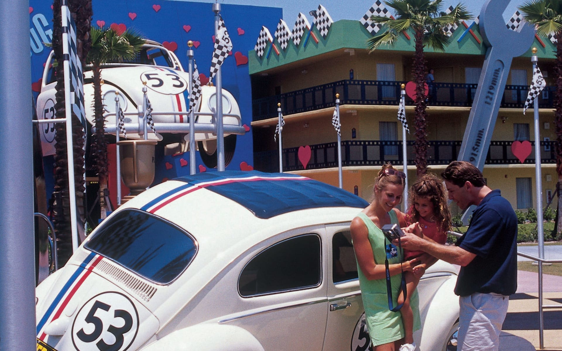 Disney's All Star Movies Resort in Lake Buena Vista: All Star Movies_Disney_Orlando - Cars