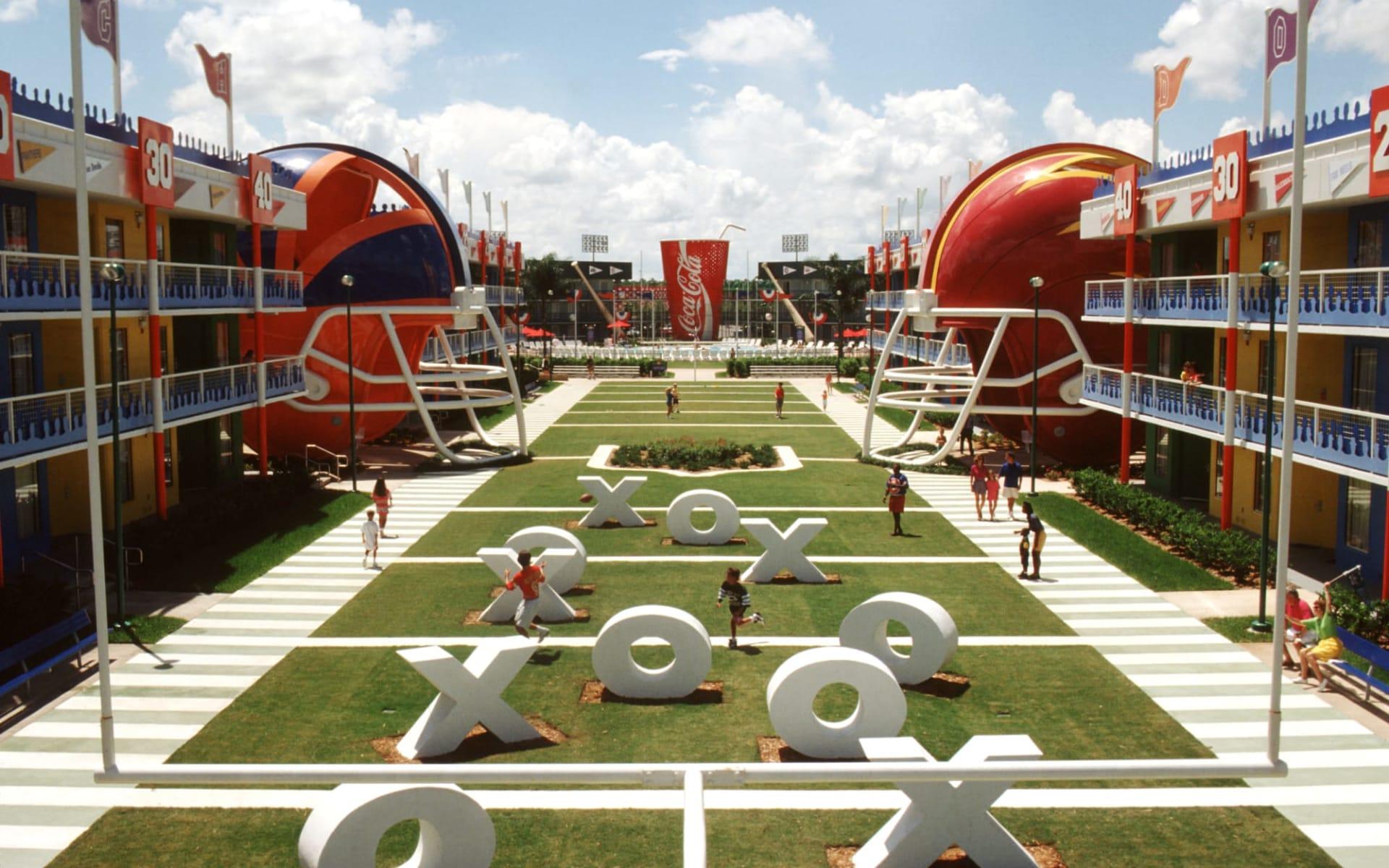 Disney's All Star Sports Resort in Lake Buena Vista: All Star Sports_Diney_Orlando