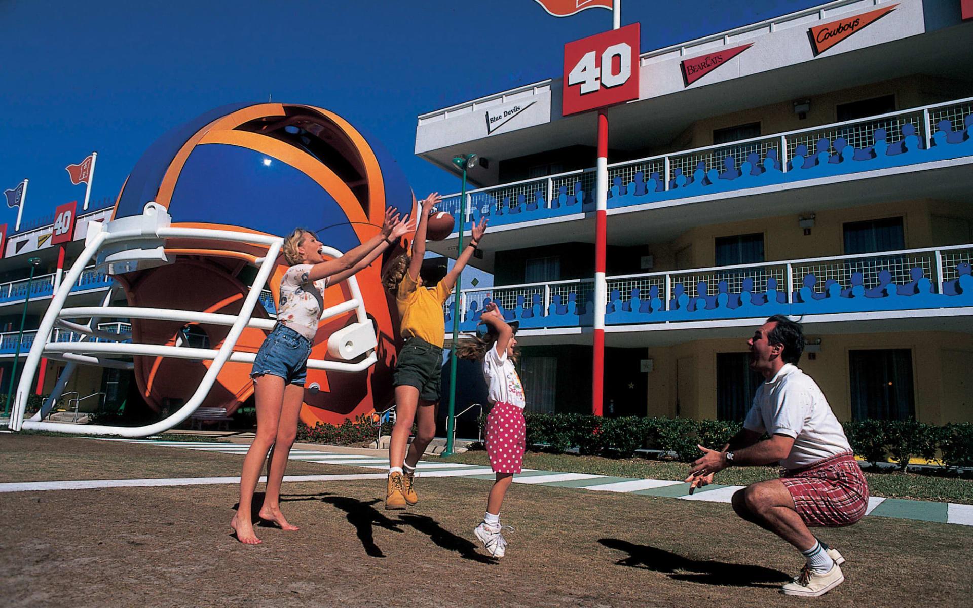 Disney's All Star Sports Resort in Lake Buena Vista: All Star Sports_Disney_Orlando - Helmet