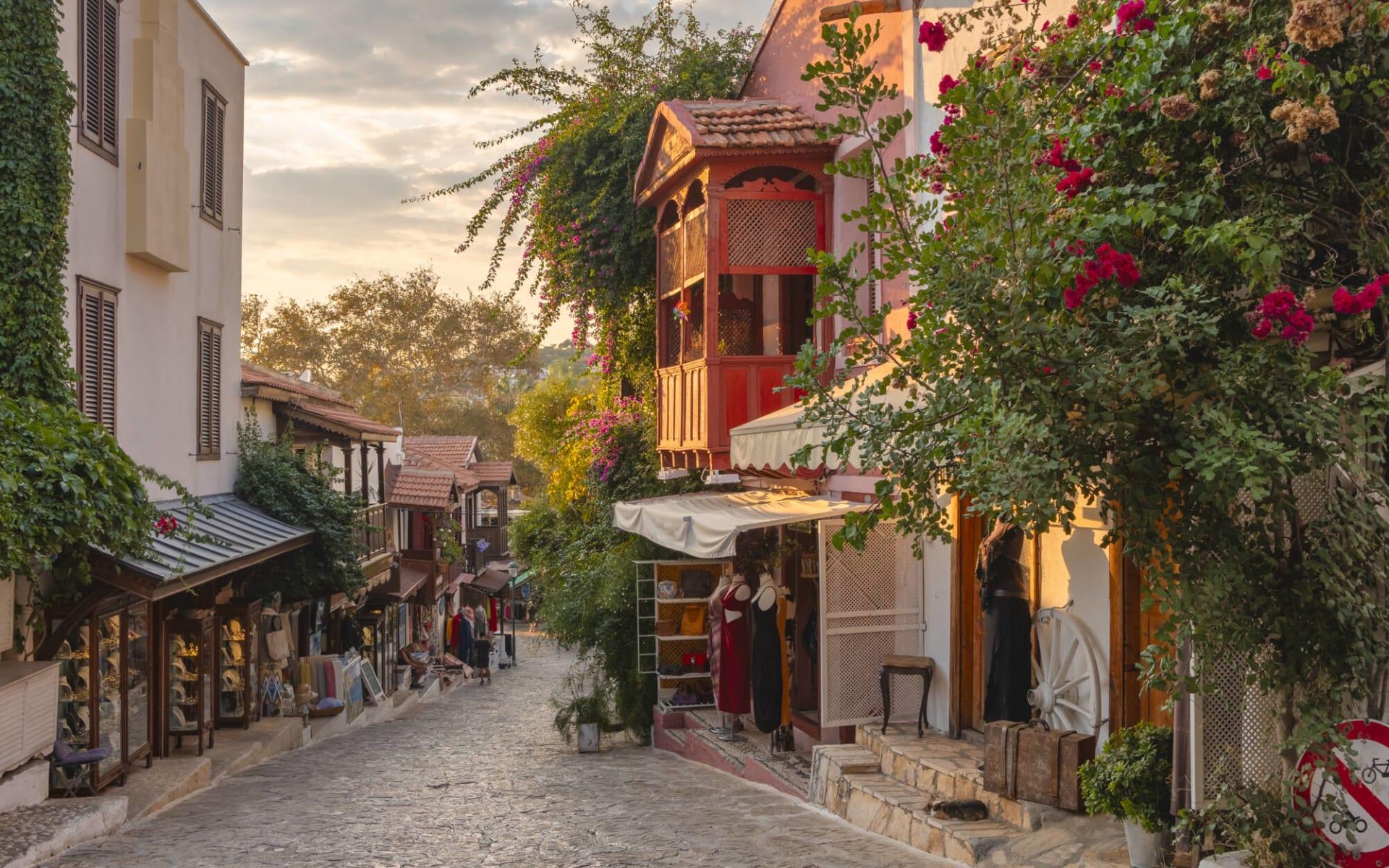Badeferien im Robinson Club Nobilis ab Antalya: Antaly Gasse_Türkei