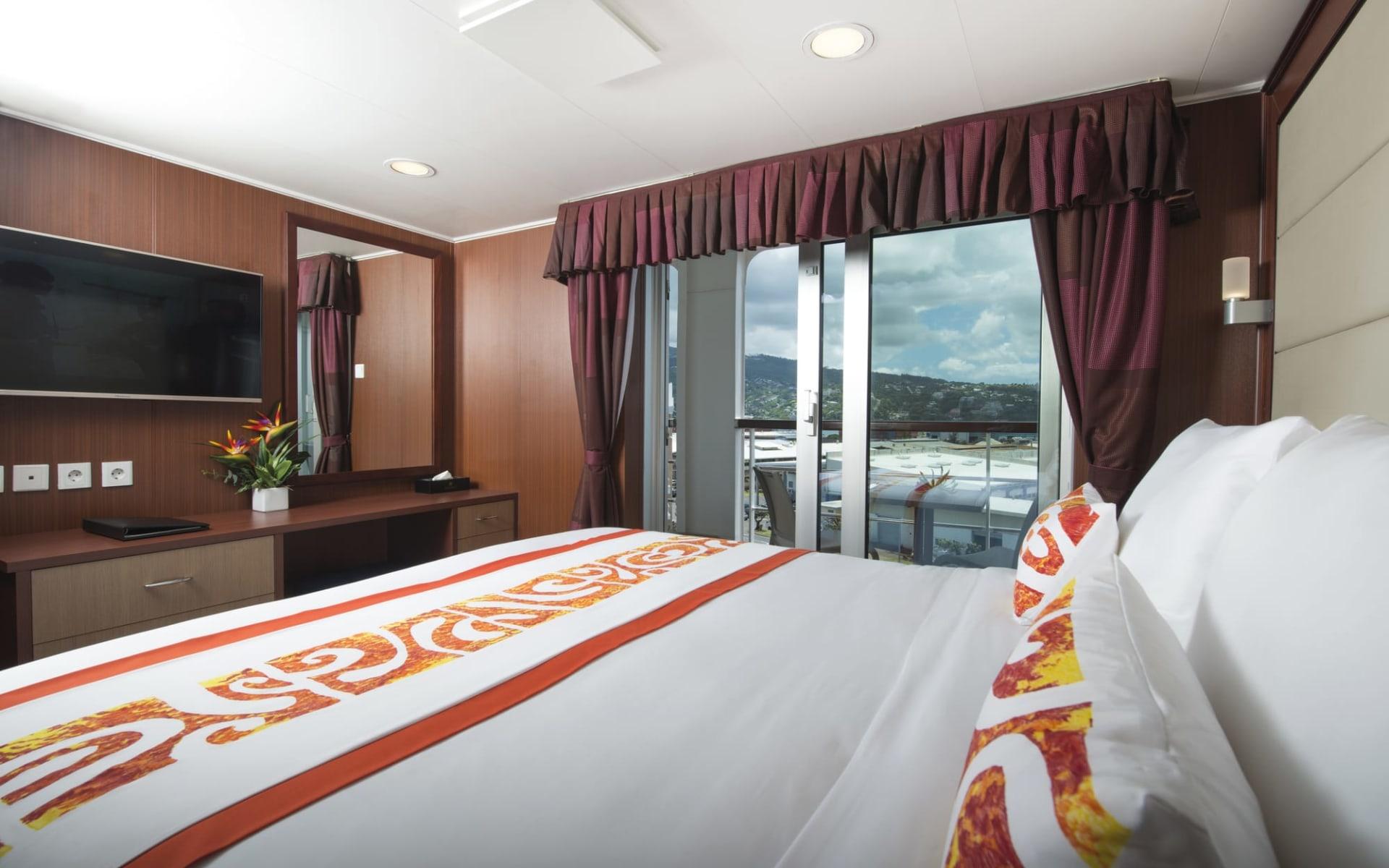 Aranui - Marquesas Cruise 13T ab Papeete: Aranui Marquesas Cruise - Pesidential Suite