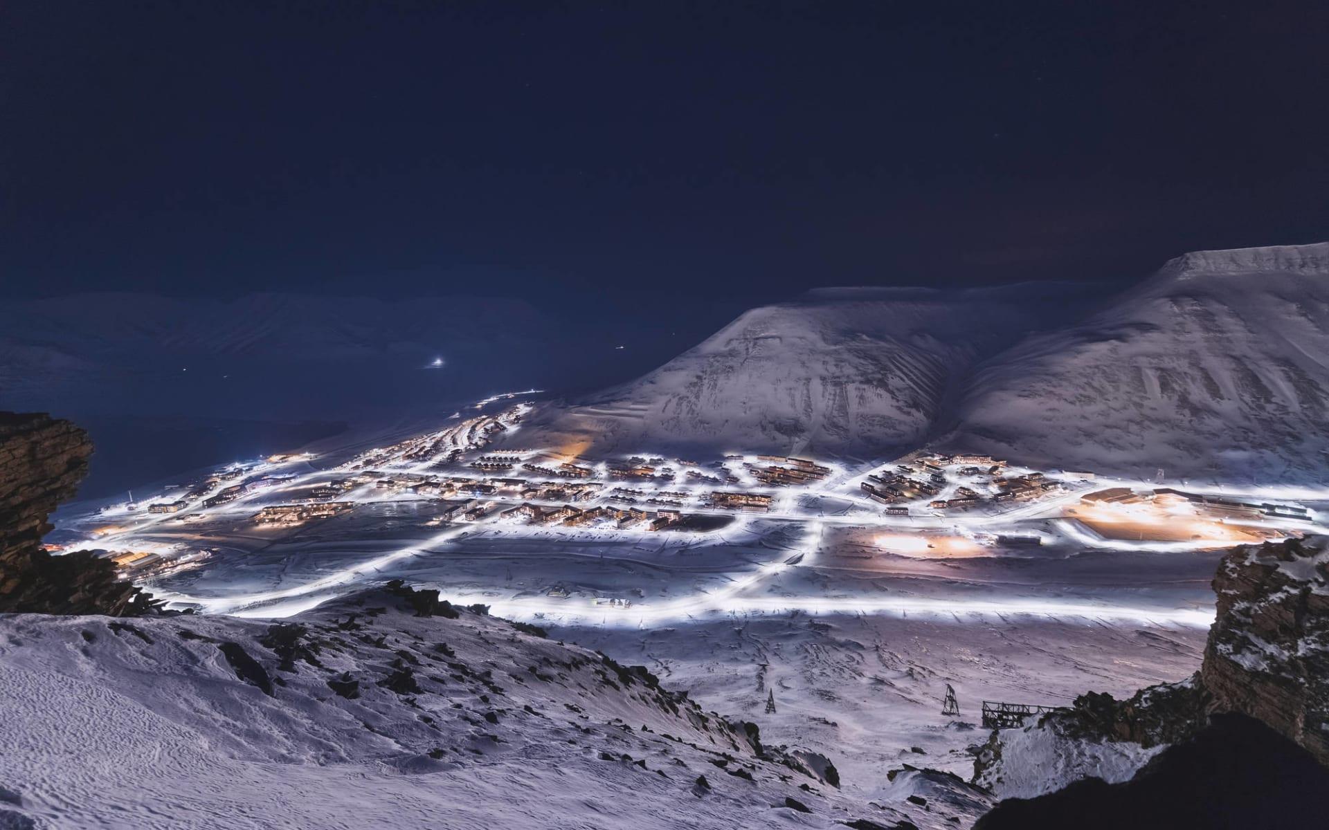 Die ultimative Spitzbergen-Expedition ab Longyearbyen: Arktis Spitzbergen Longyearbyen Svalbard Polarnacht