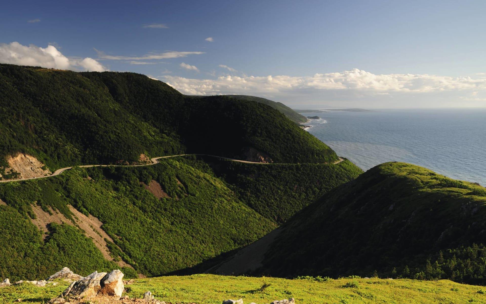 Spirit of the Atlantic ab Halifax: Atlantikkanada - Nova Scotia - Cape Breton Highlands National Park