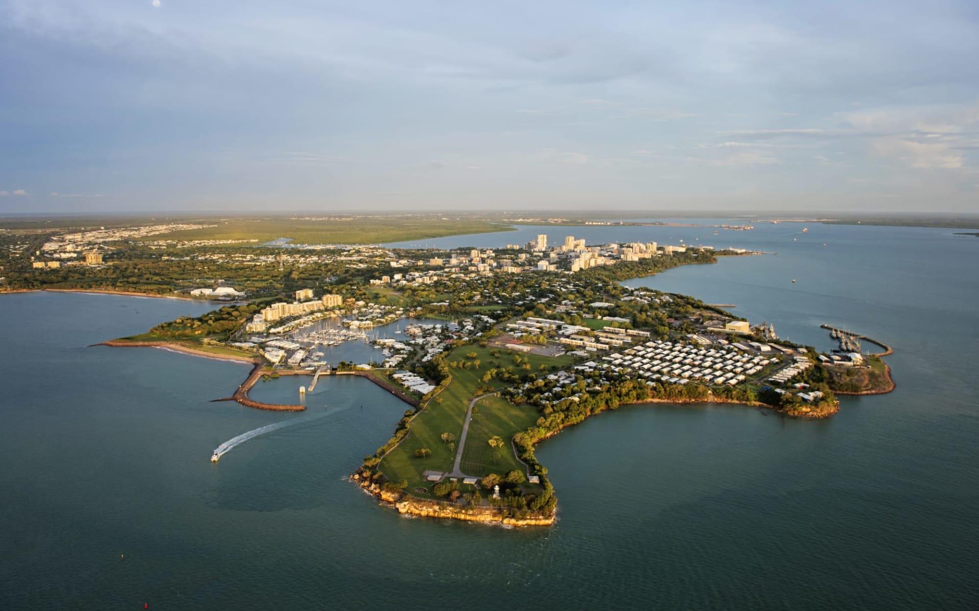 Top End Explorer ab Darwin: Australia - Northern Territory - Darwin - Aerial