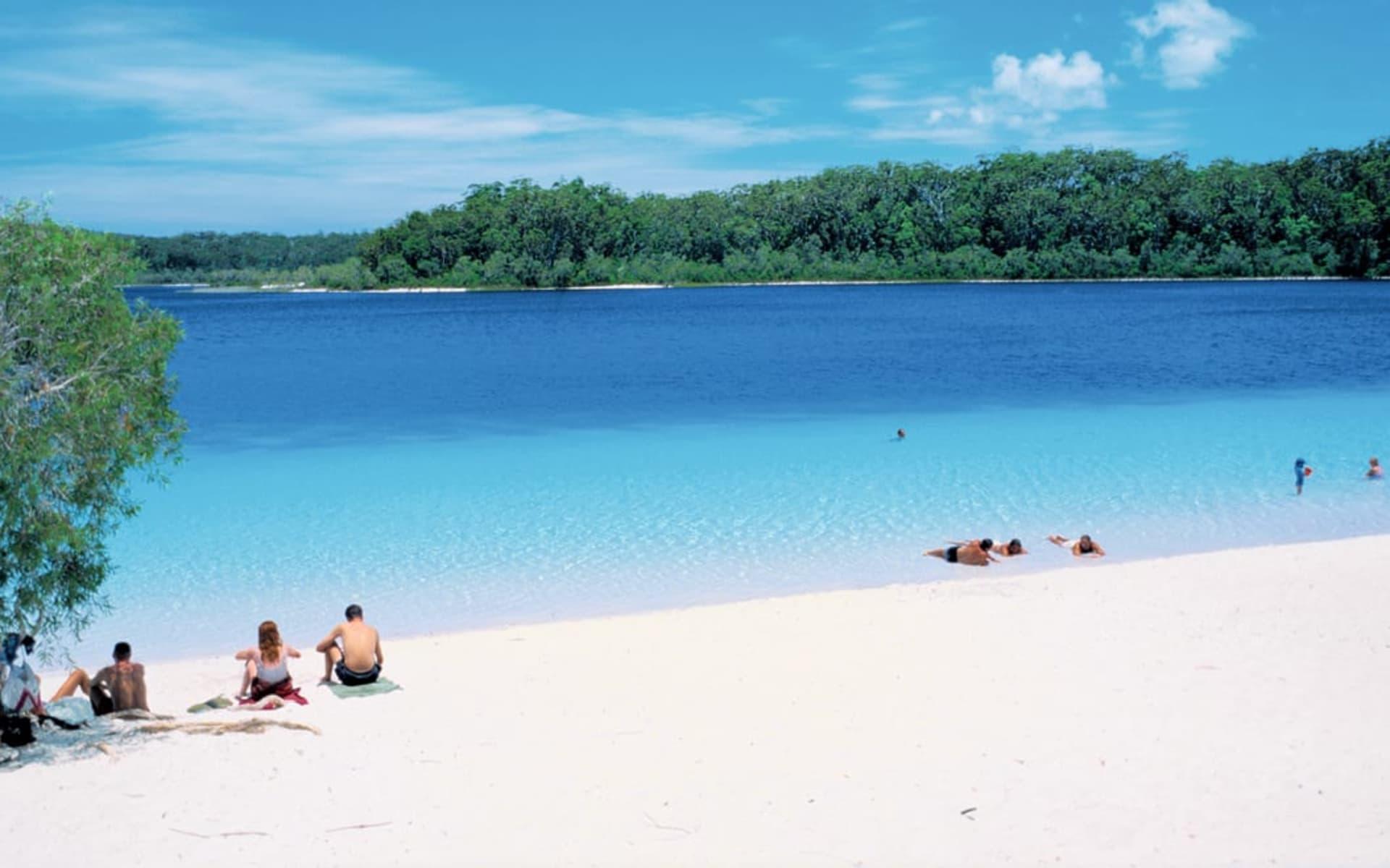 East Coast Beachin' ab Sydney: Australia - Queensland - Fraser Island - Beachlife
