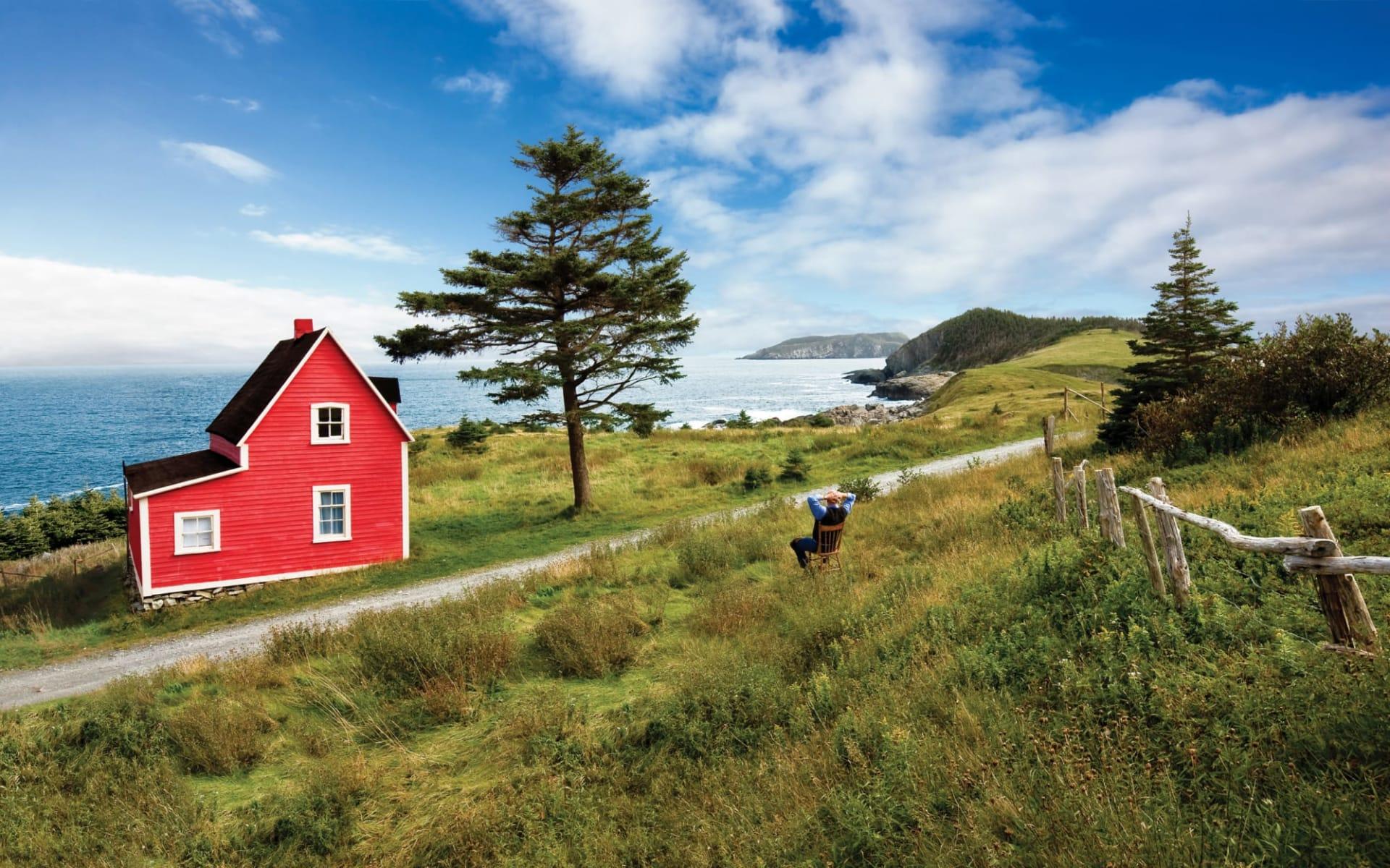 Abenteuer Labrador und Neufundland ab St. John's: Avalon-Red House Tors Cove EXTENDED LEFT_Tourbase