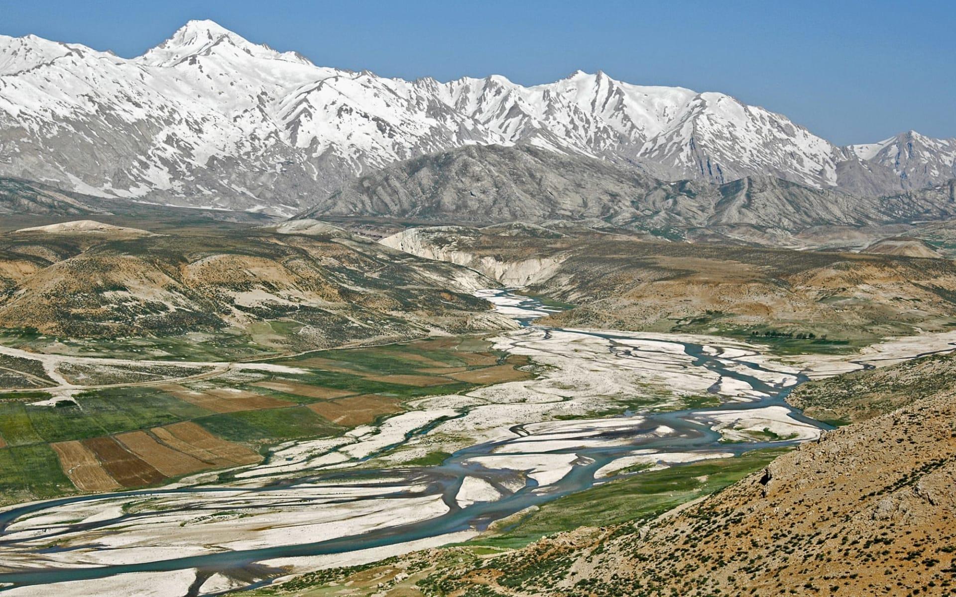 Skifahren in Persien ab Teheran: Bakhtiari, Kuhrang