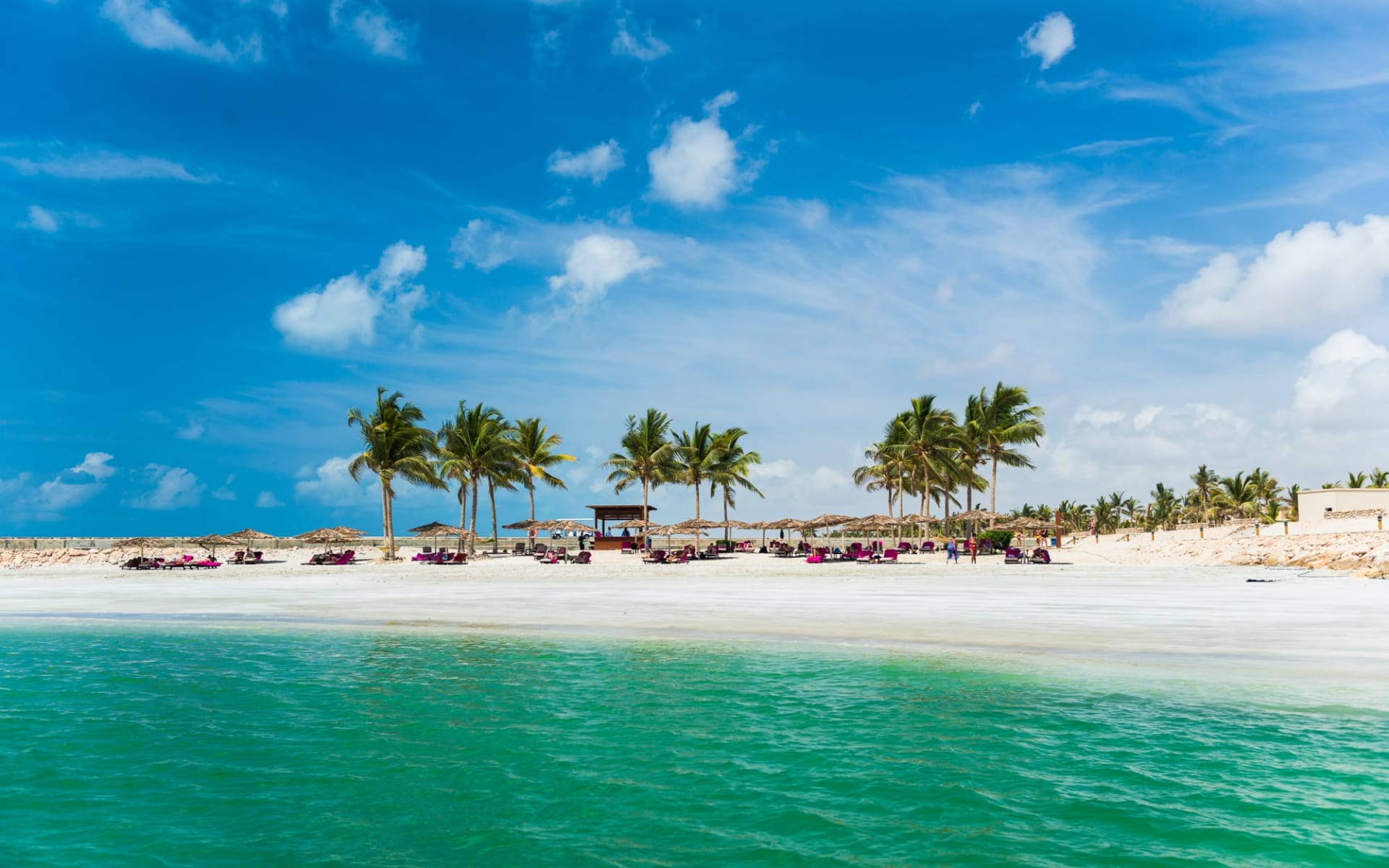 Oman Küstenkarawane ab Muscat: beach: