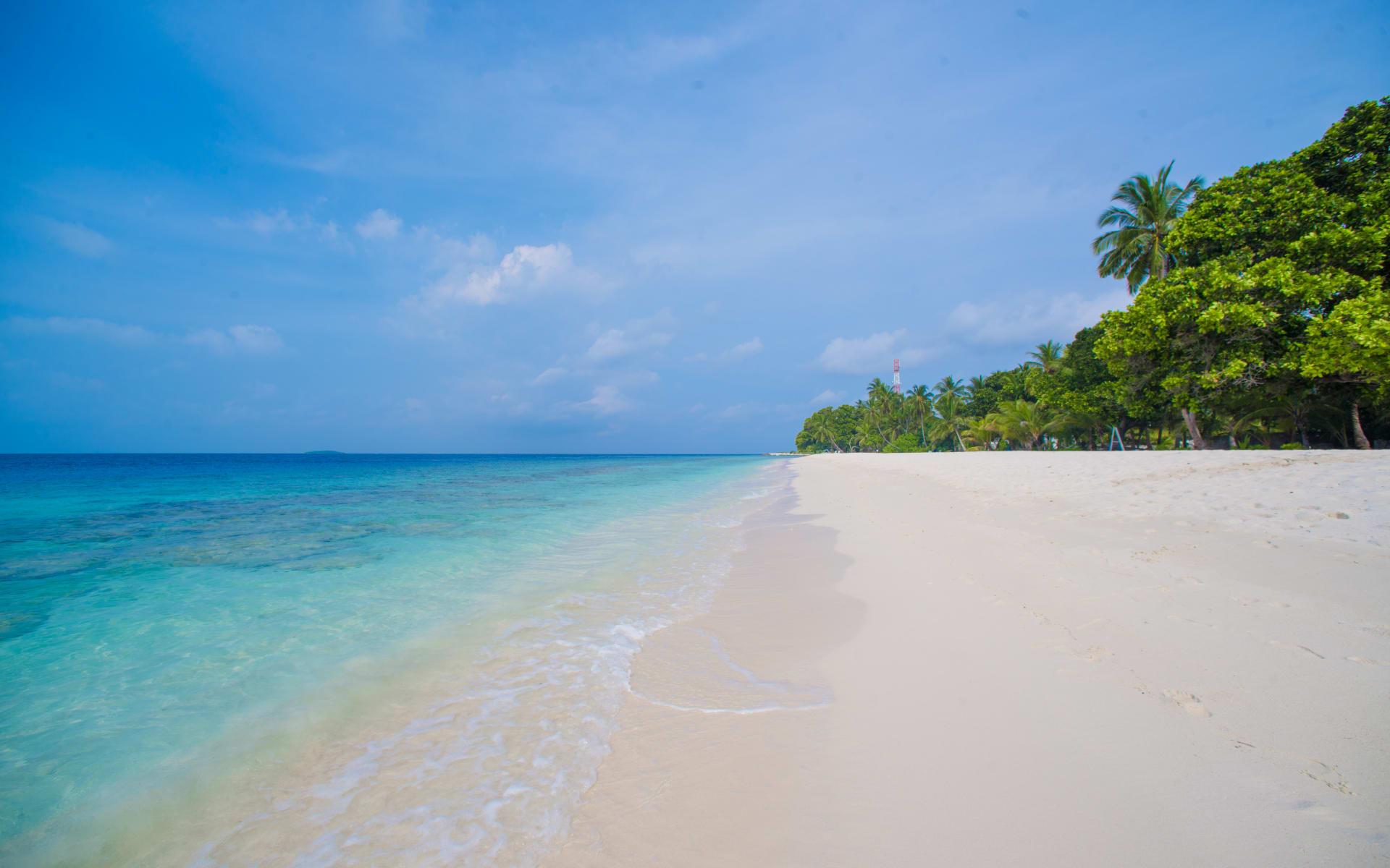 Kiha Beach in Dharavandhoo: