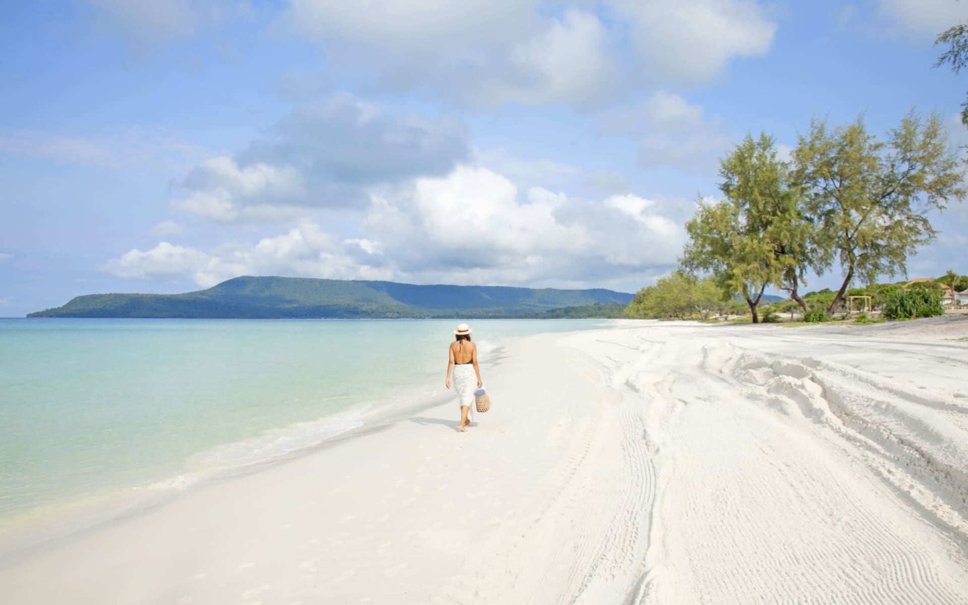 The Royal Sands Koh Rong in Sihanoukville & Inseln: Beach