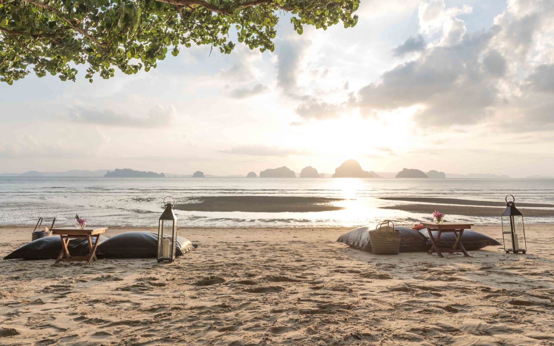 The Tubkaak Krabi Boutique Resort: Beach