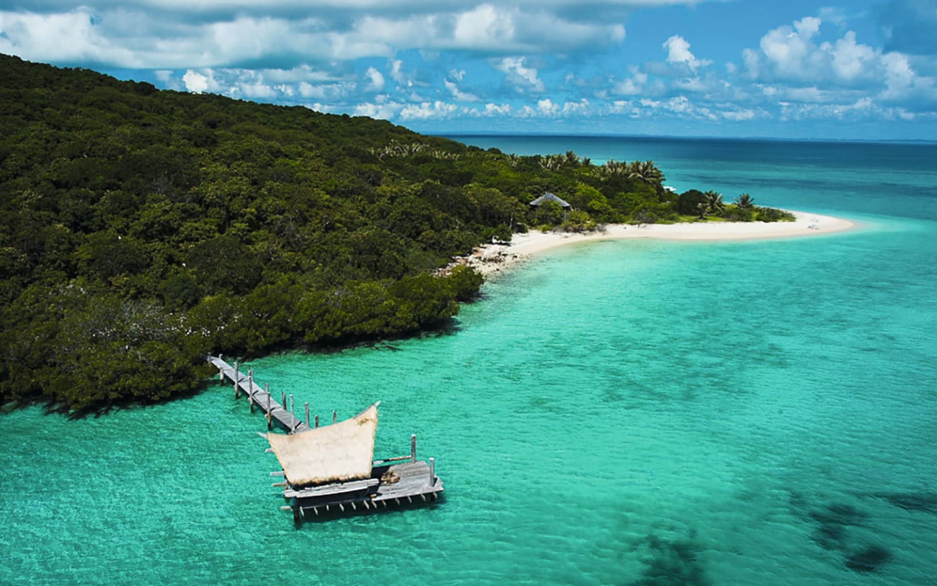 Haggerstone Island Resort:  Facilities Haggerstone Island Resort Queensland Australien  Jetty 2018