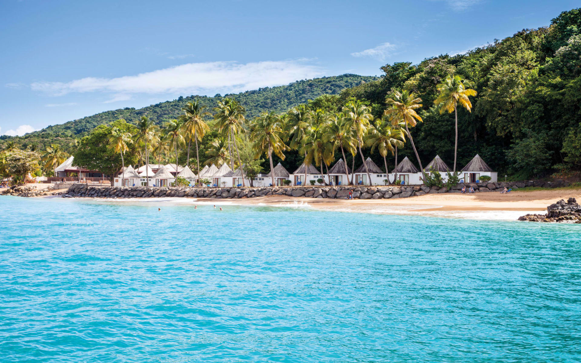 Langley Resort Fort Royal in Deshaies:  Guadeloupe_Langley Resort Fort Royal_Beach