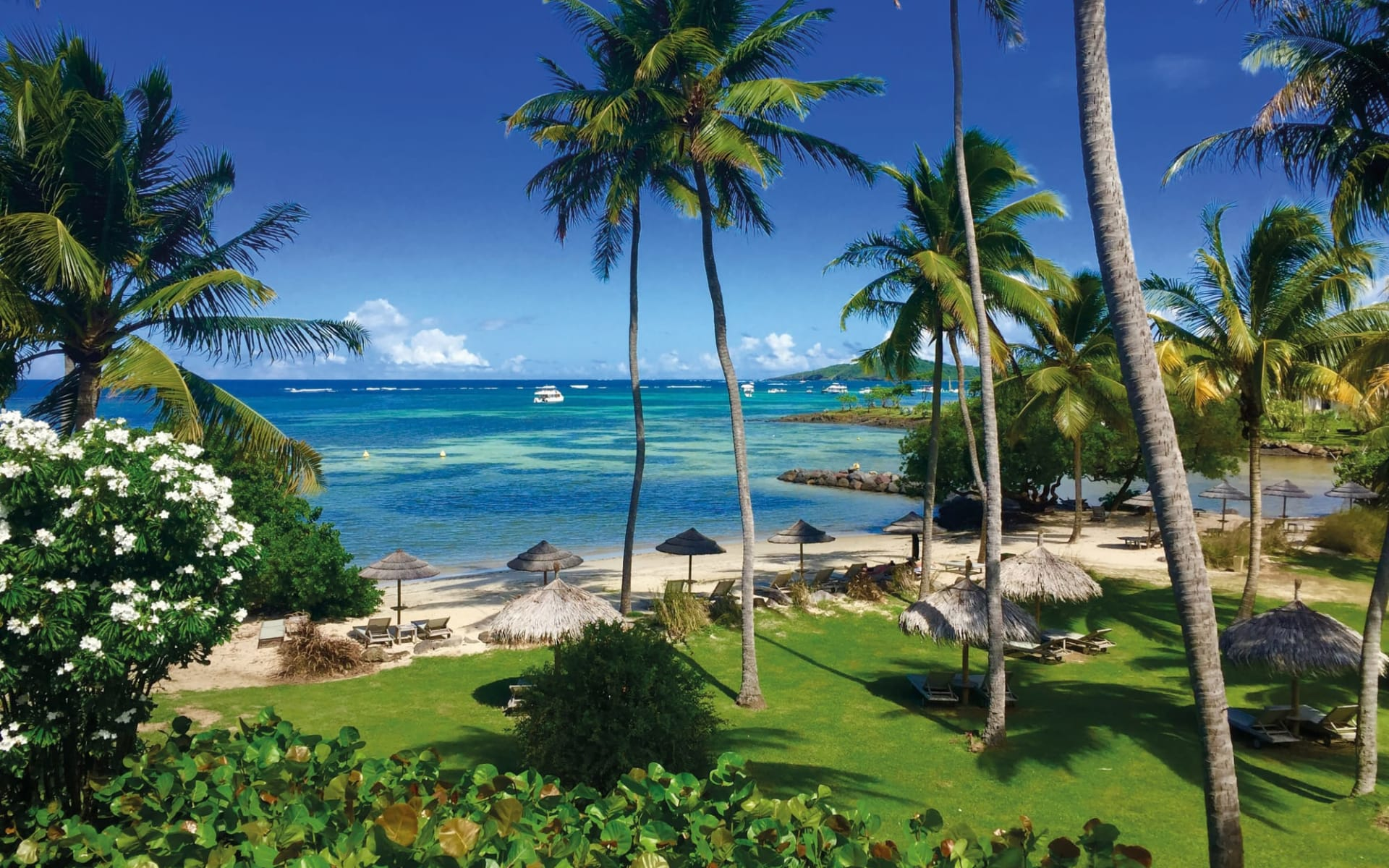 Le Cap Est Lagoon Resort & Spa in La Prairie:  Martinique_Le Cap Est LAgoon Resort & Spa_Beach