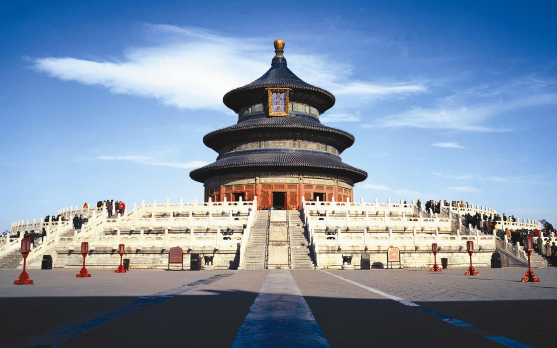 China für Geniesser mit Luxus-Kreuzfahrt auf dem Yangtze ab Peking: Beijing Temple of Heaven