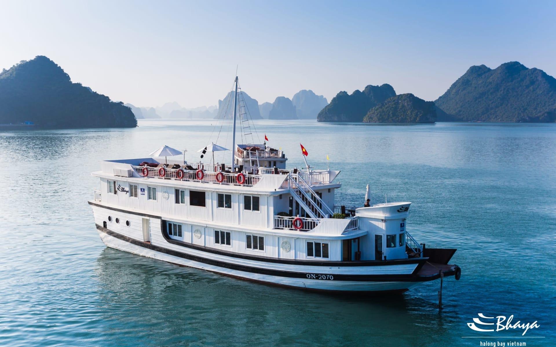 Halong Bucht Kreuzfahrten mit «Bhaya Premium» ab Hanoi: Bhaya-Classic-Premium-Overview (2)