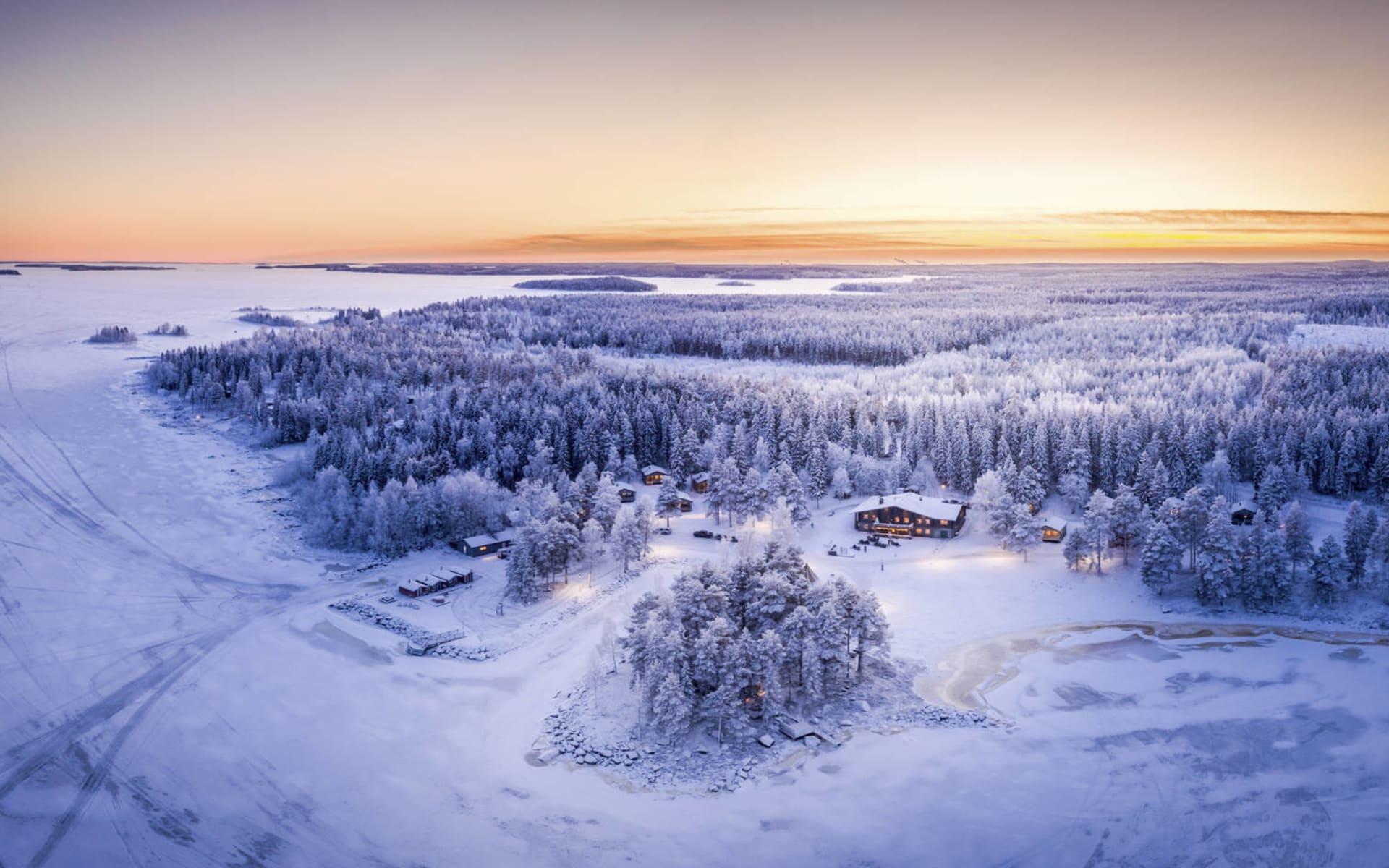 Brändön Lodge ab Luleå: Brändön Lodge