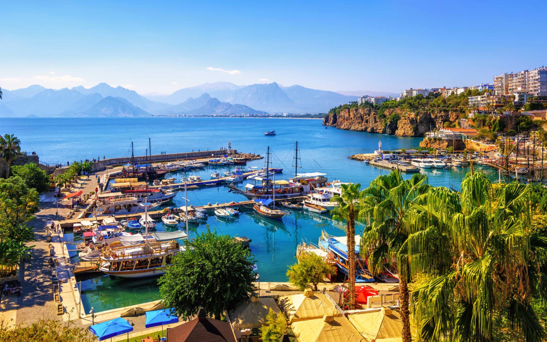 Badeferien im Delphine Diva ab Antalya: Bucht_Antalya