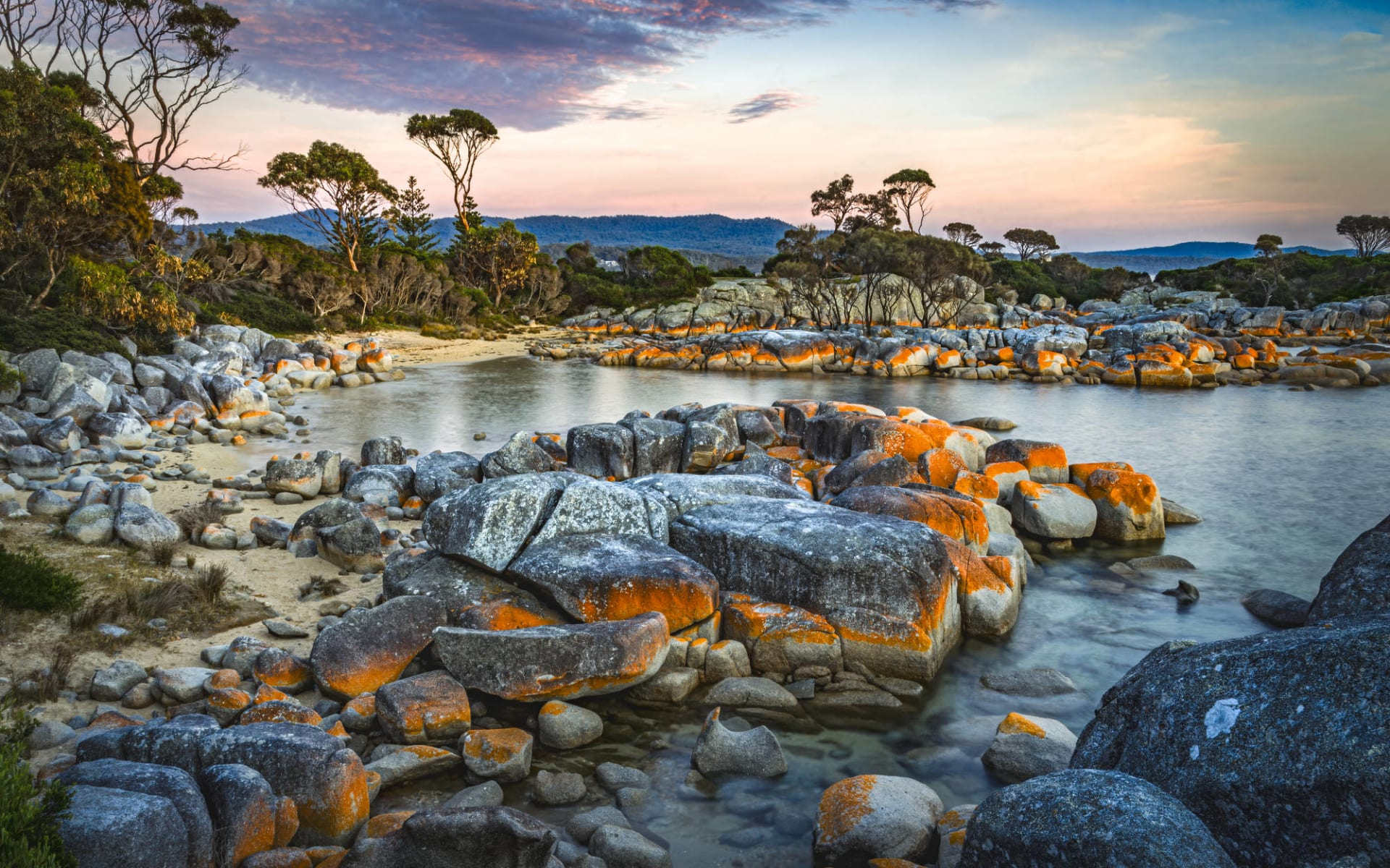 Tasmania Hike & Drive ab Hobart: Bucht Binalong in Tasmania