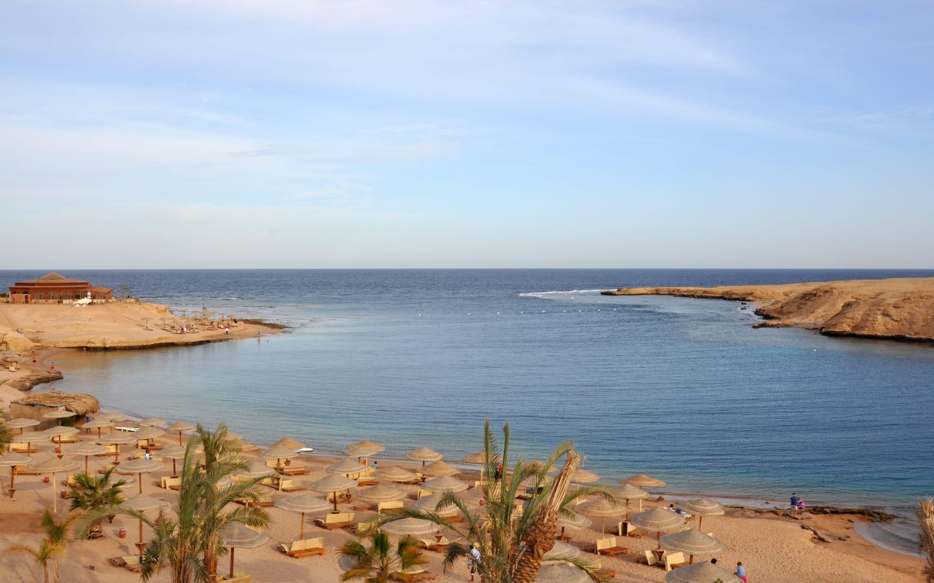 Badeferien im Cleopatra Luxury Resort ab Hurghada: Bucht Makadi
