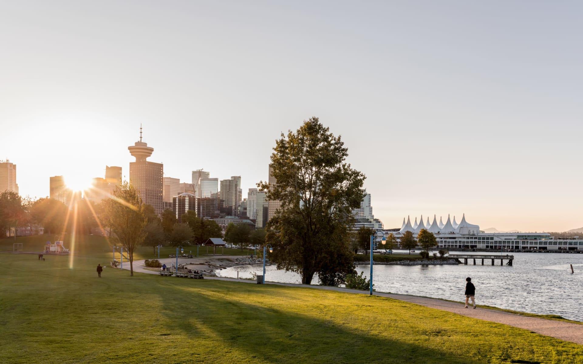 Lodge-Abenteuer Westkanada ab Calgary: Canada - British Columbia - Vancouver - Railtown CRAB Park