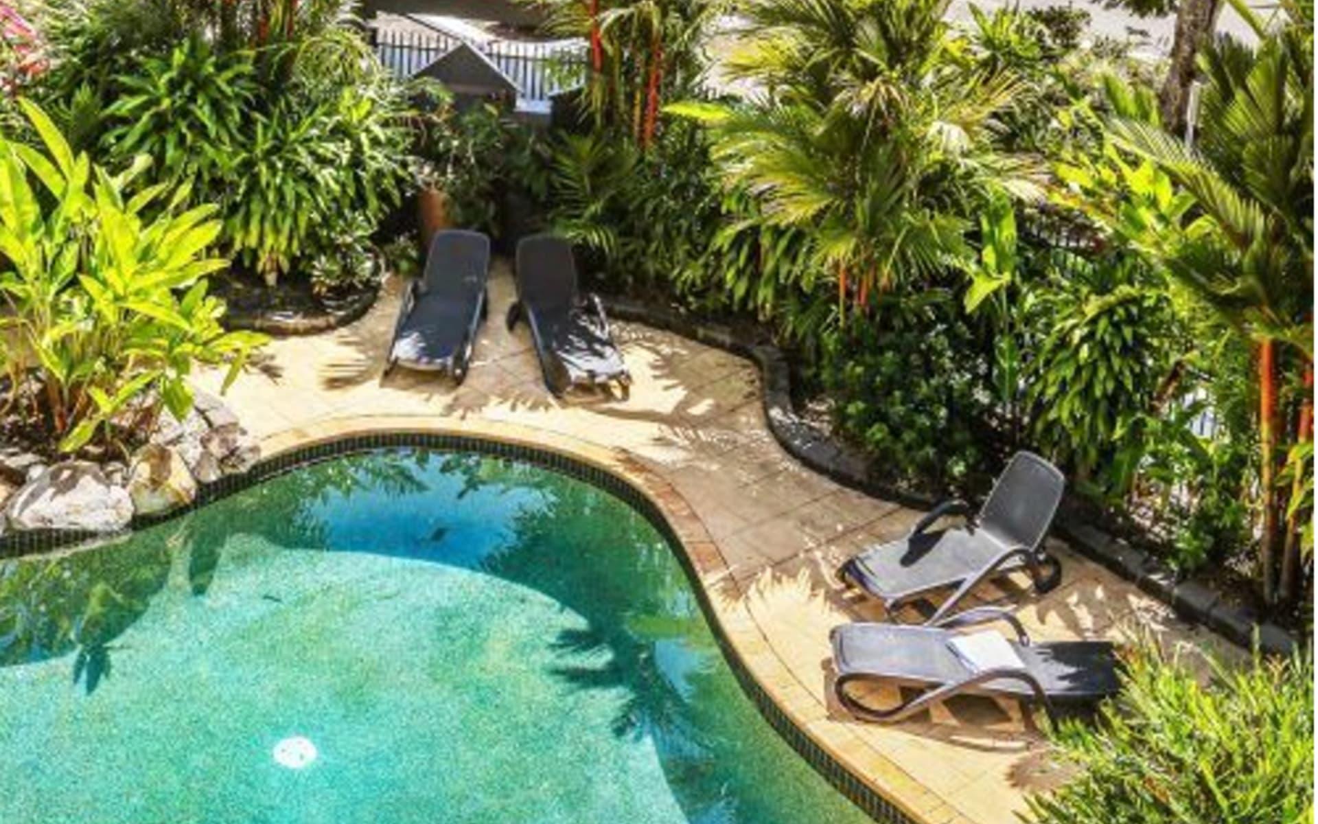 Cascade Gardens Holiday Apartments in Cairns: Cascade Gardens Pool