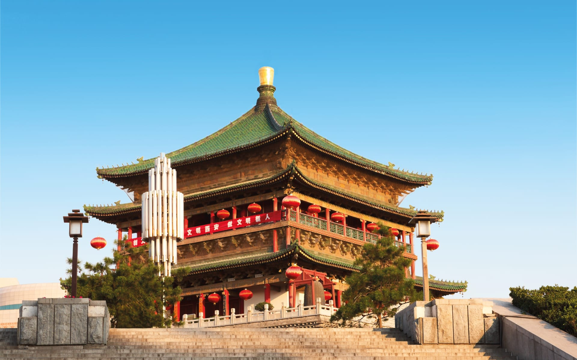 Privat Zeitreise durch China/D ab Peking: Chian_Xian_Glockenturm_shutterstock_28551752_NataliyaHora