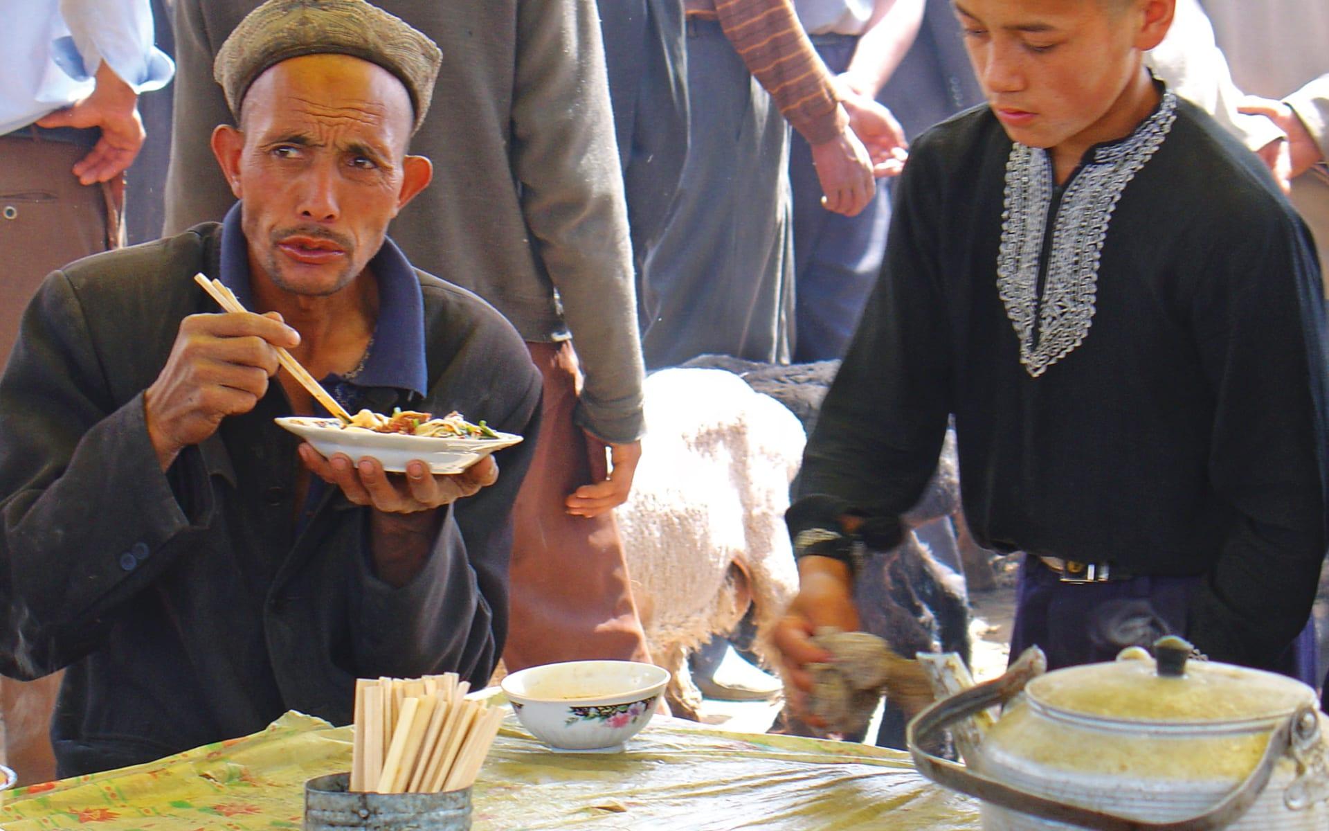 Gruppenreise Kontrastreiches China ab Shanghai: China_Menschen_Essen
